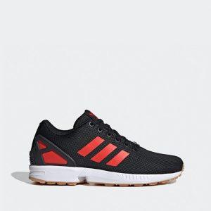 נעליים Adidas Originals לגברים Adidas Originals  Zx Flux - שחור/אדום
