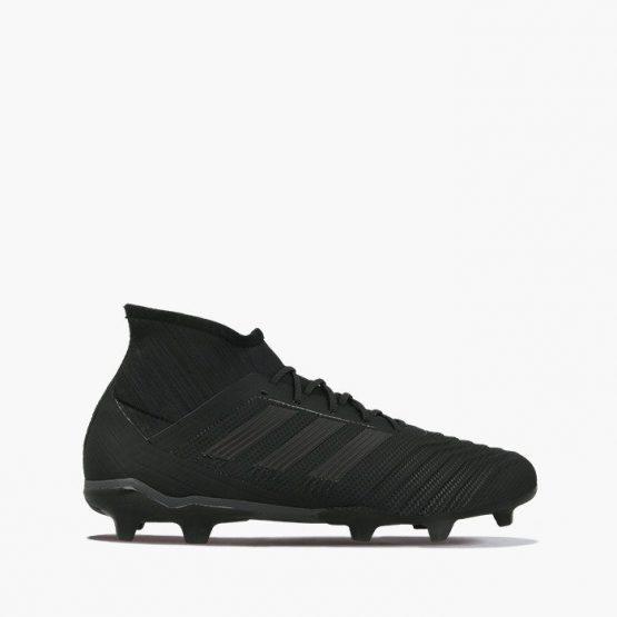 נעליים אדידס לגברים Adidas PREDATOR 18.2 FG - שחור