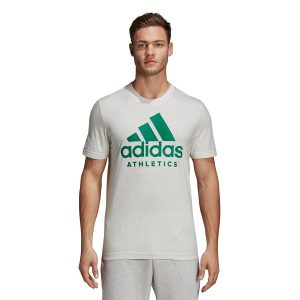 ביגוד אדידס לגברים Adidas SID Branded - לבן