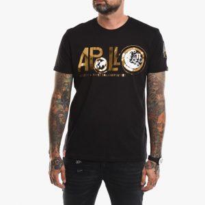 ביגוד אלפא אינדסטריז לגברים Alpha Industries Apollo Moon Landing 50 - שחור הדפס