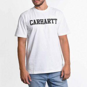 ביגוד קארהארט לגברים Carhartt WIP College - לבן