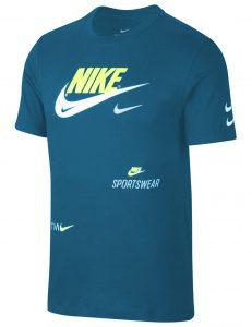 ביגוד נייק לגברים Nike MULTI SWOOSH - כחול
