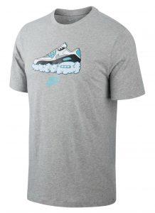 ביגוד נייק לגברים Nike NSW Air Am90 - אפור