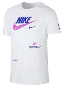 ביגוד נייק לגברים Nike NSW PACK 2 - לבן