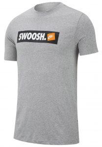 ביגוד נייק לגברים Nike SWOOSH BMPR - אפור
