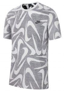 ביגוד נייק לגברים Nike Sportswear Hand Drawn Aop - אפור