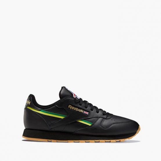 נעליים ריבוק לגברים Reebok Classic Leather MU International - שחור