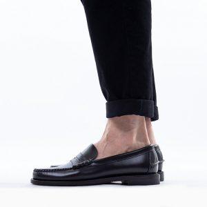 נעליים Sebago לגברים Sebago Classic Dan - שחור
