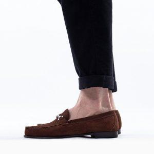 נעליים Sebago לגברים Sebago Gary Suede - חום