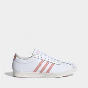 נעליים אדידס לנשים Adidas Courtset - לבן/ורוד
