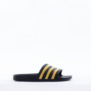 נעליים אדידס לגברים Adidas Adilette Aqua - שחור/צהוב