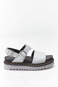 נעליים דר מרטינס  לנשים DR Martens VOSS HYDRO - אפור בהיר