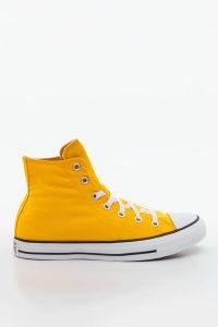 נעלי סניקרס קונברס לנשים Converse Chuck Taylor All Star Hi - צהוב
