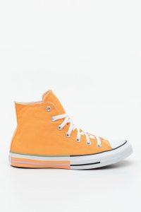 נעלי סניקרס קונברס לנשים Converse Chuck Taylor All Star Hi - כתום