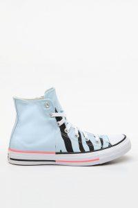נעלי סניקרס קונברס לנשים Converse Chuck 70 Hi Sunblocked - תכלת