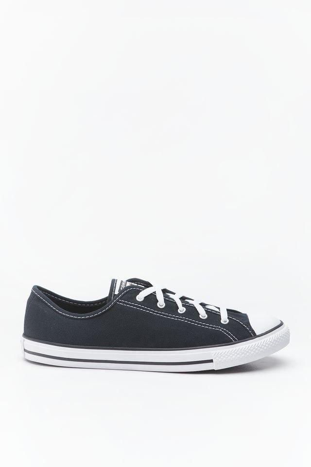 נעליים קונברס לנשים Converse CHUCK TAYLOR ALL STAR DAINTY NEW COMFORT - שחור/לבן