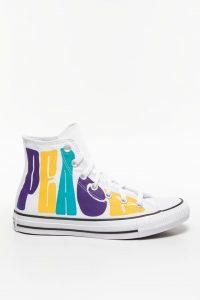 נעליים קונברס לנשים Converse CHUCK TAYLOR PEACE - צבעוני/לבן