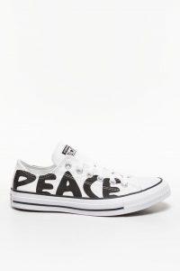 נעליים קונברס לגברים Converse CHUCK TAYLOR PEACE - לבן/שחור