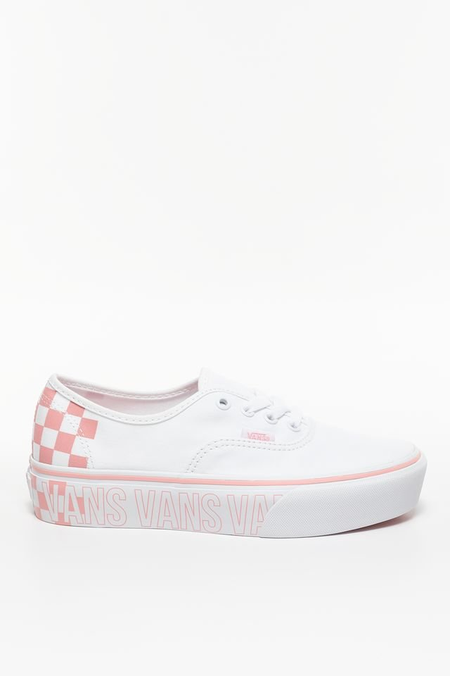 נעליים ואנס לנשים Vans AUTHENTIC PLATFORM 2 0 AHP - לבן/ורוד
