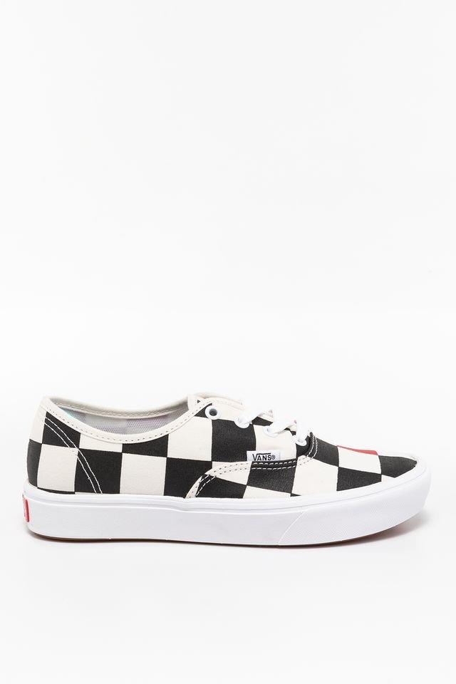 נעליים ואנס לנשים Vans COMFYCUSH AUTHENT - שחור/אדום
