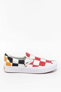 נעלי סניקרס ואנס לנשים Vans COMFYCUSH SLIP-ON - צבעוני/לבן