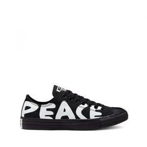 נעליים קונברס לגברים Converse CHUCK TAYLOR PEACE - שחור