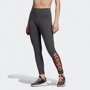 ביגוד אדידס לנשים Adidas 3-Stripes Tight - אפור