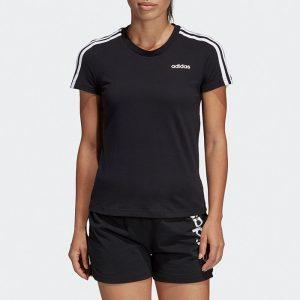 ביגוד אדידס לנשים Adidas Essentials 3-Stripes - שחור