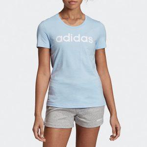 ביגוד אדידס לנשים Adidas Linear - כחול