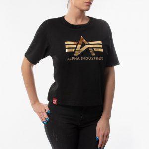 ביגוד אלפא אינדסטריז לנשים Alpha Industries Big A - שחור