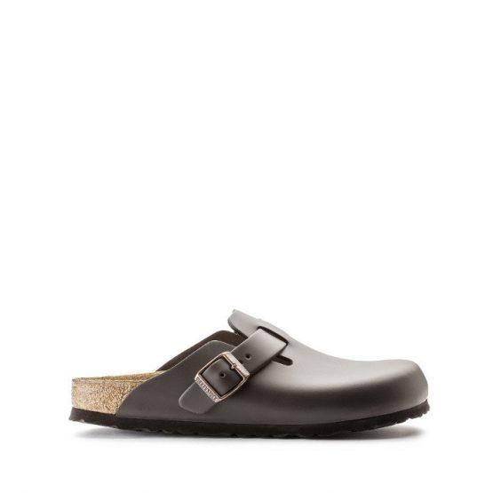 נעליים בירקנשטוק לנשים Birkenstock Boston - אפור כהה