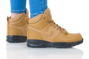 נעלי סניקרס נייק לנשים Nike MANOA LTR GS - חום