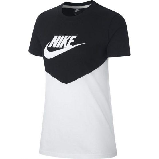 ביגוד נייק לנשים Nike NSW HRTG - שחור/לבן