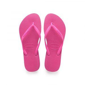 נעליים הוויאנס לנשים HAVAIANAS slim - ורוד בזוקה