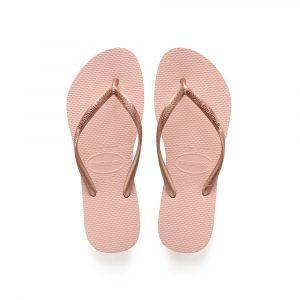 נעליים הוויאנס לנשים HAVAIANAS slim - ורוד בהיר