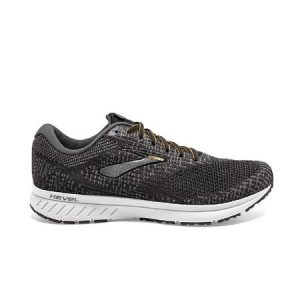 נעלי ריצה ברוקס לגברים Brooks 3 Revel - שחור/אפור