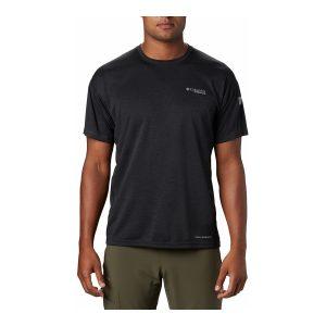 חולצת T קולומביה לגברים Columbia IRICO KNIT CREW - שחור