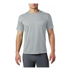 חולצת T קולומביה לגברים Columbia IRICO KNIT CREW - אפור
