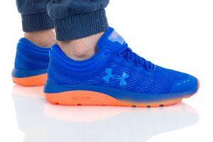 נעליים אנדר ארמור לגברים Under Armour Charged Bandit 5 - כחול/כתום