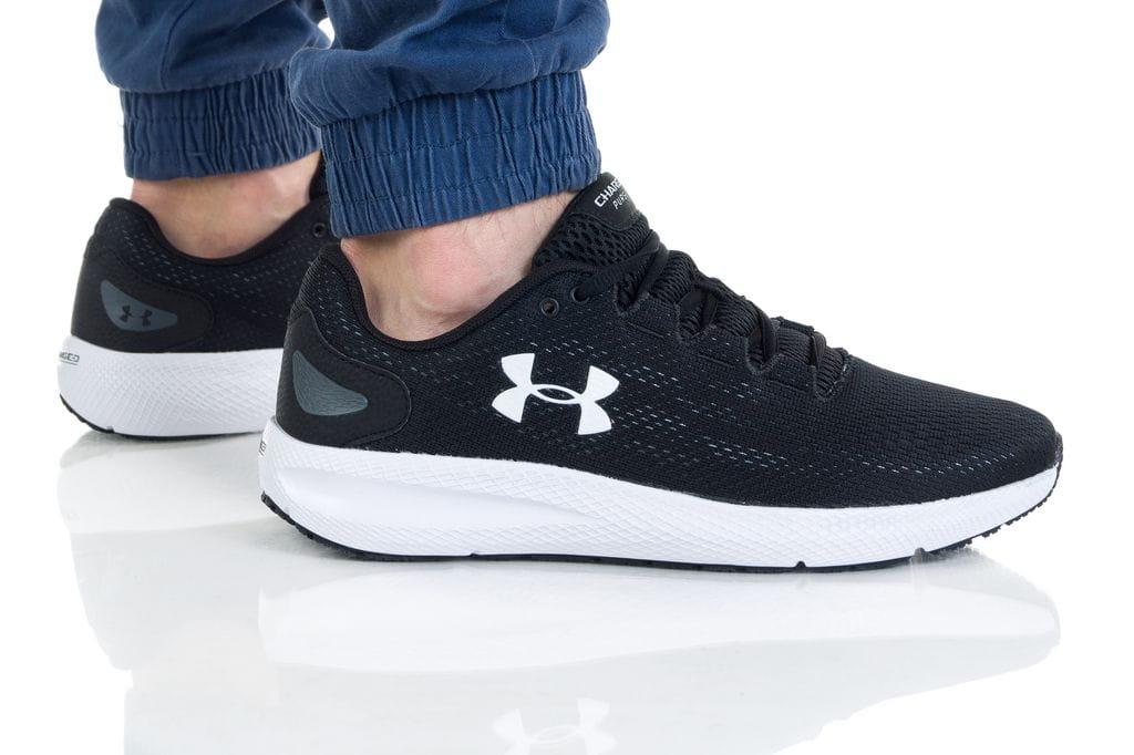 נעלי ריצה אנדר ארמור לגברים Under Armour CHARGED PURSUIT 2 - שחור/לבן