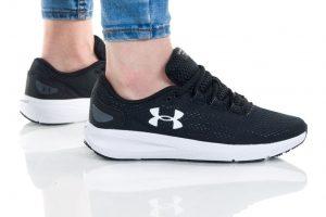נעלי ריצה אנדר ארמור לנשים Under Armour GS CHARGED PURSUIT 2 - שחור/לבן