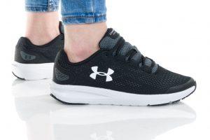 נעלי ריצה אנדר ארמור לנשים Under Armour GS CHARGED PURSUIT 2 - שחור