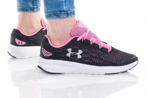 נעלי ריצה אנדר ארמור לנשים Under Armour GS CHARGED PURSUIT 2 - שחור/ורוד