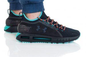 נעליים אנדר ארמור לגברים Under Armour HOVR PHANTOM SE TREK - שחורטורקיז