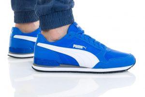 נעליים פומה לגברים PUMA ST Runner v2 Mesh - כחול/לבן