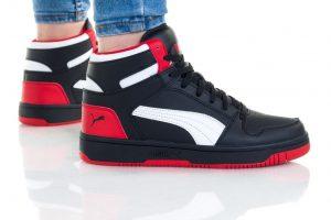 נעליים פומה לנשים PUMA REBOUND LAYUP - שחור/אדום