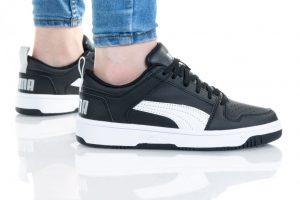 נעליים פומה לנשים PUMA REBOUND LAYUP - שחור/לבן