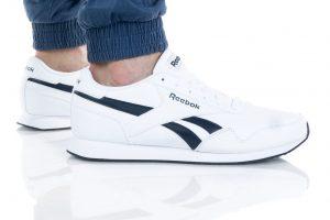 נעלי סניקרס ריבוק לגברים Reebok Royal Classic Jogger 3 - לבן