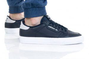 נעלי סניקרס אדידס לגברים Adidas Originals Continental Vulc - כחול כהה