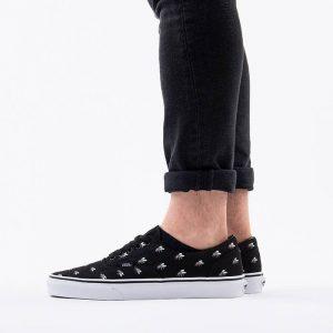 נעליים ואנס לגברים Vans Era - שחור הדפס
